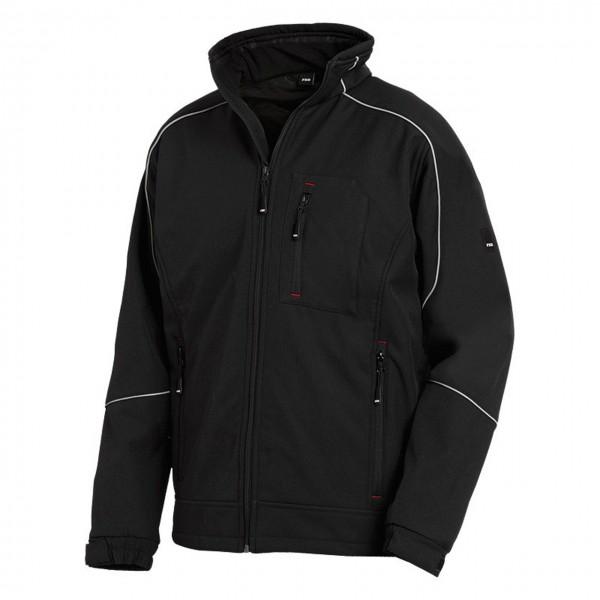 FHB Softshell- Jacke DIRK 78519, schwarz