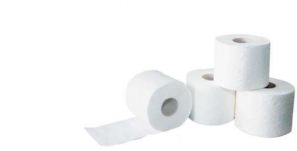 3-lagiges Toilettenpapier in hochweiss,