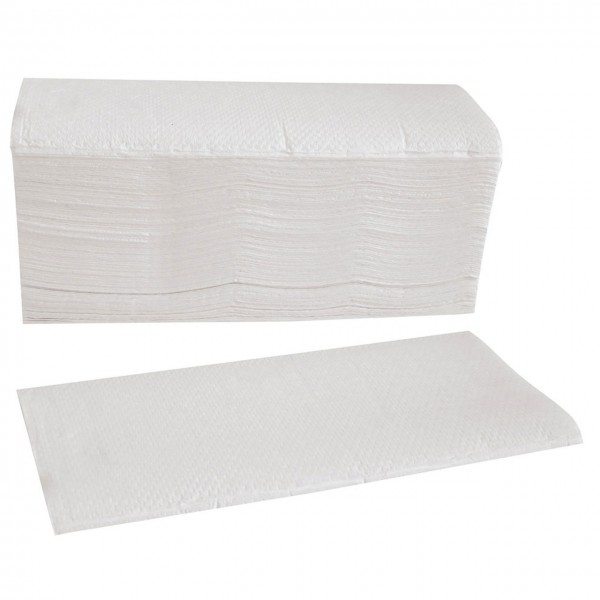 Papierhandtuch 2-lagig, gelegt
