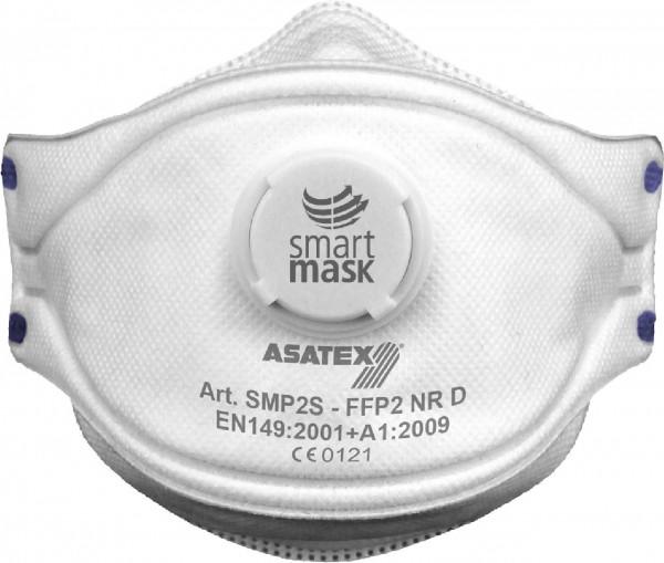 Smartmask Feinstaub-Faltmaske FFP2 NR D