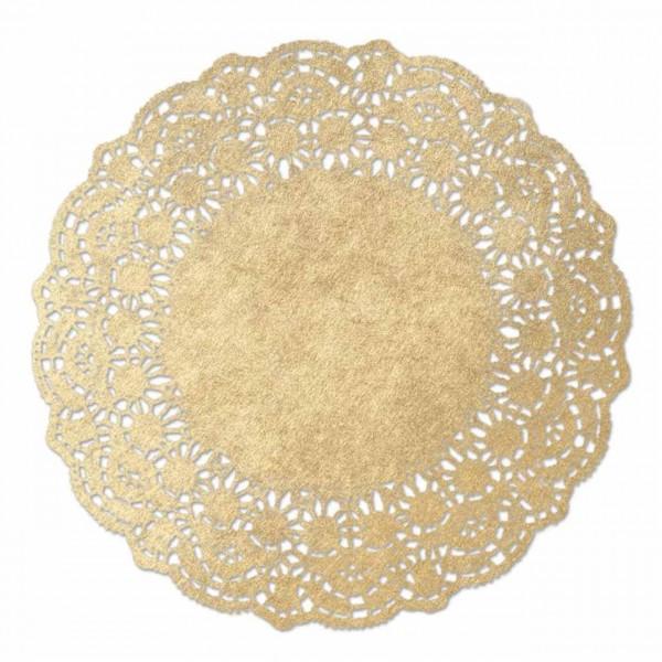 Tortenspitzen von Hygostar, gold
