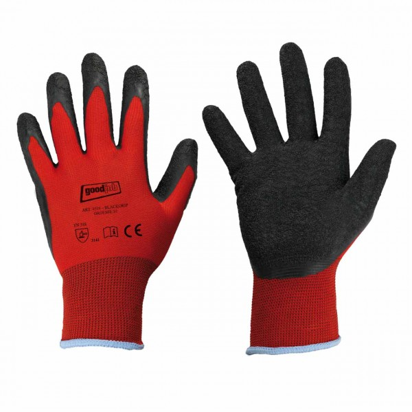 Polyester- Handschuh BLACKGRIP von goodj