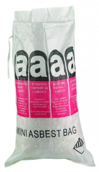 Mini-Asbestbag 70x110cm, unbeschichtet