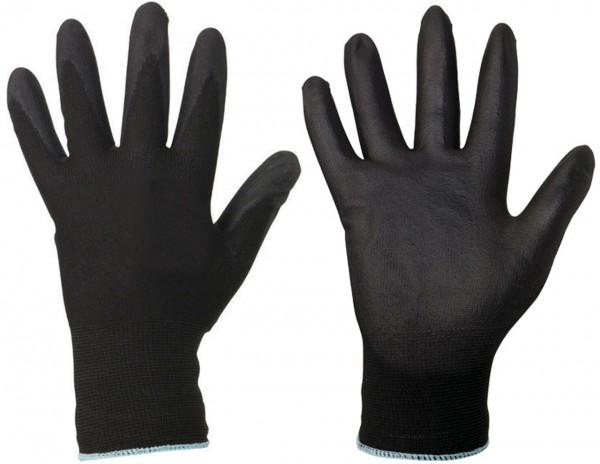 Polyester- Handschuhe DARKGRIP von goodj
