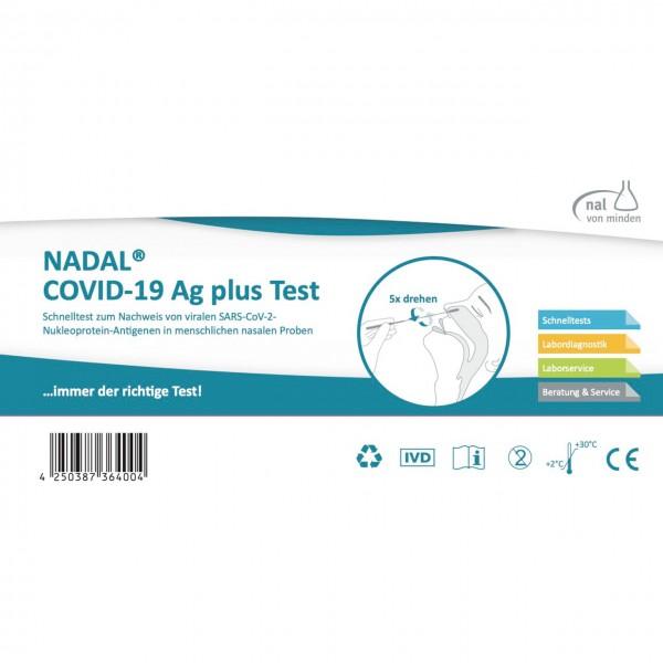 NADAL® COVID 19 AG Plus Test