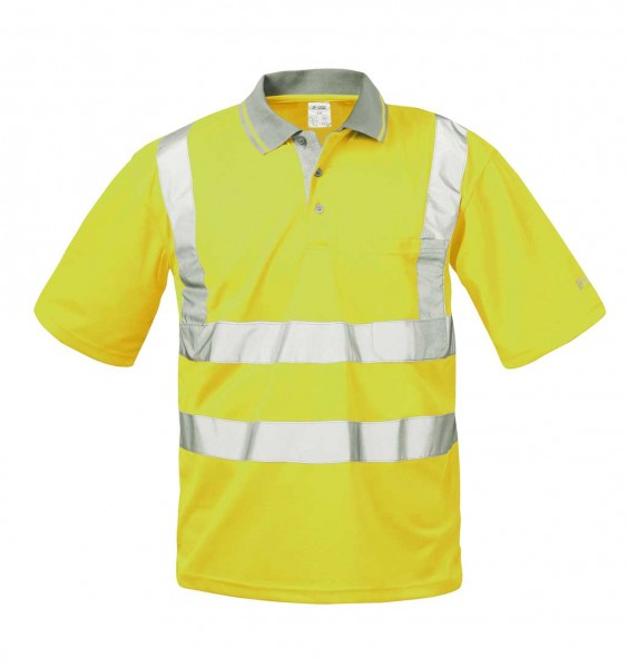 Warnschutz- Poloshirt  Brusttasche 22694