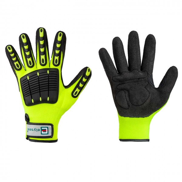 Kunstfaster-Handschuh RESISTANT, gelb