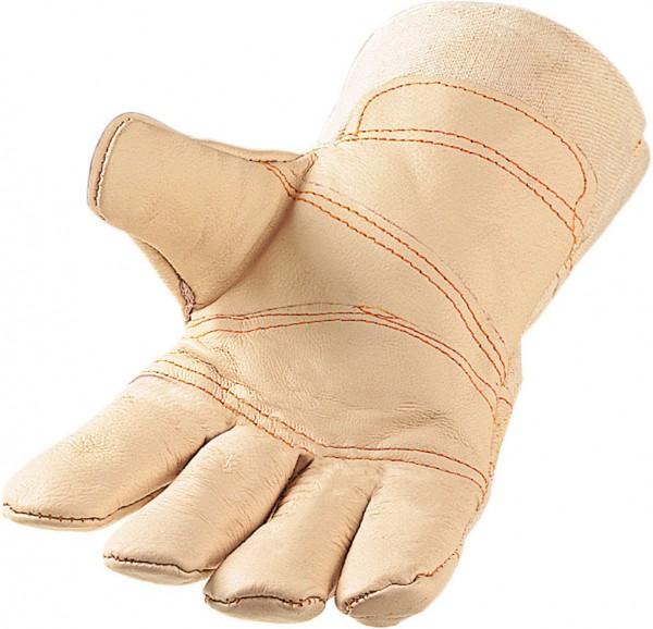 Möbelleder Handschuh helle Farbe UGMTH
