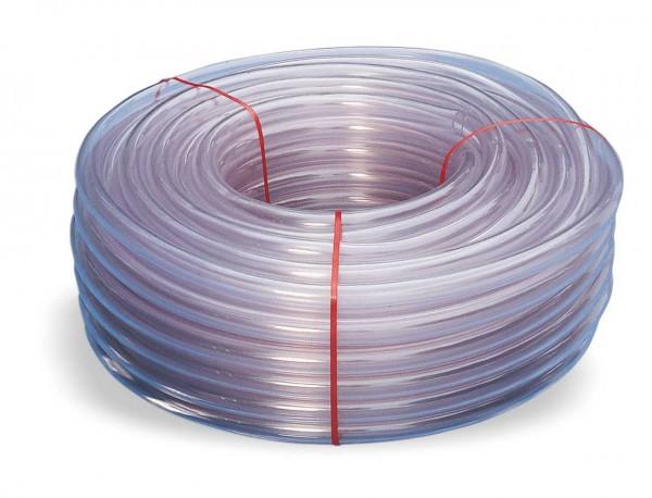 PVC-Schlauch ohne Gewebeeinlagen in glas
