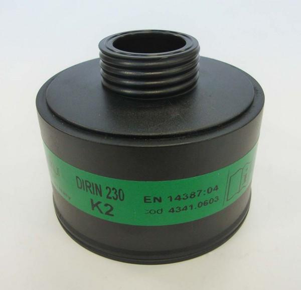 Sekur Gasfilter DIRIN 230 K2 gegen Ammon