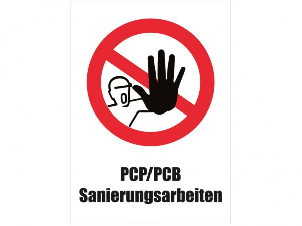 Asbest- Warntafeln PCP/PCB,1731