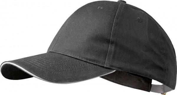 Basic Base- Cap WILLI von elysee, schwar