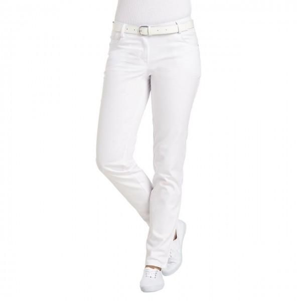 Leiber Praxis- Damenhose 08/6700, weiß