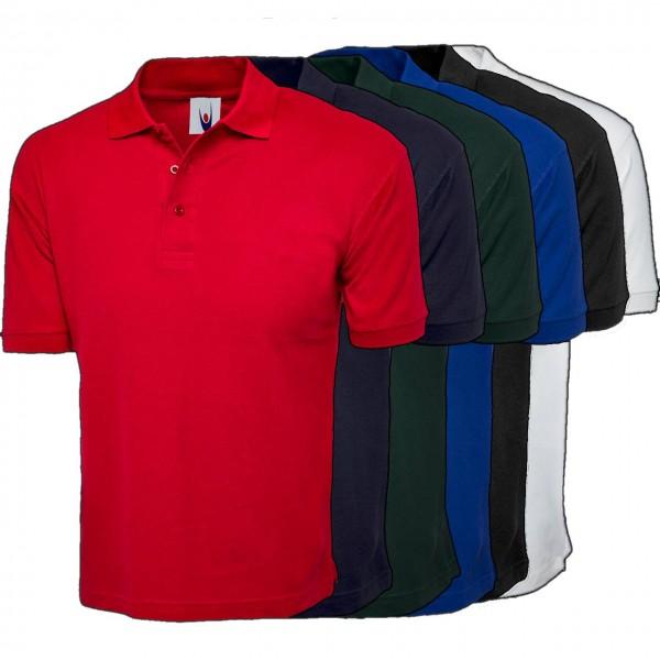 Poloshirts aus Baumwolle ideal für Druck