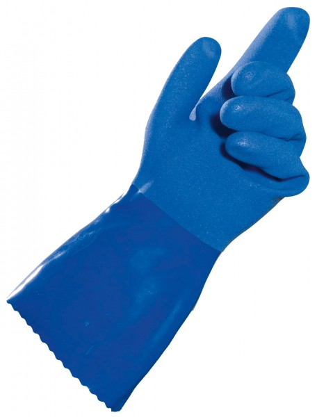 Vinyl- Handschuhe TELBLUE von MAPA, blau