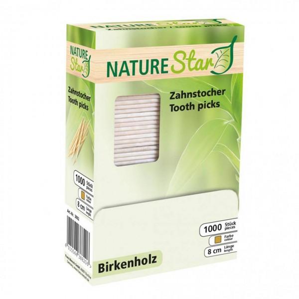 Holz-Zahnstocher von NATURE Star