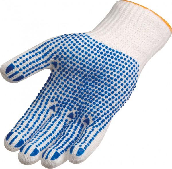Grobstrickhandschuh blaue Punkte 3620