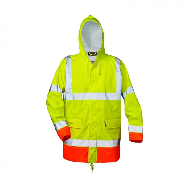 PU-Stretch Regenjacke NORMAN