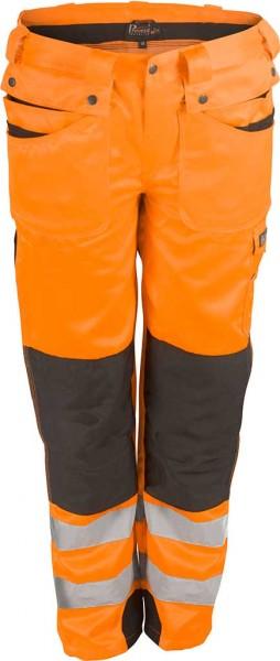 PTW-HO orange Warnschutzhose Bund