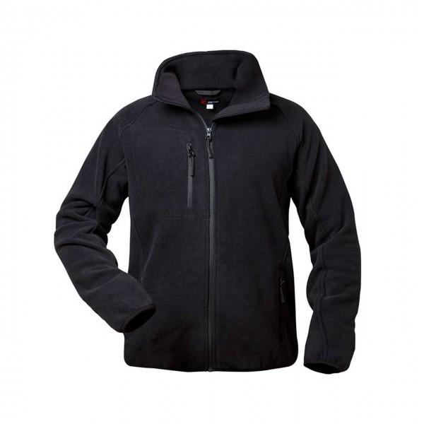 Fleece Jacke von Craftland in schwarz