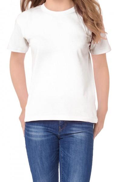 Kinder T-Shirt von B&C 145 g/m², weiß