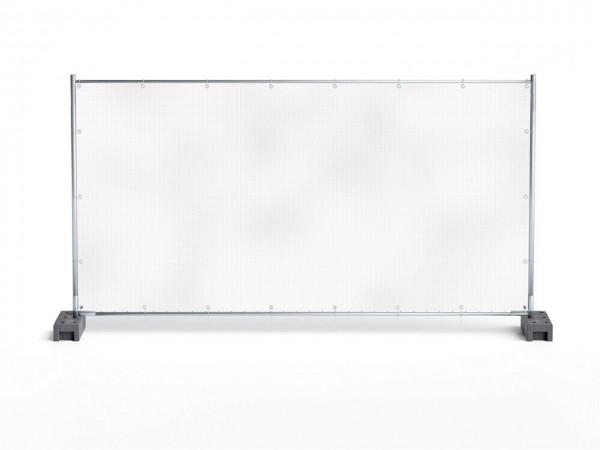 1,76m x 3,41m Bauzaunplane aus PVC-Mesh