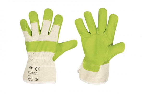 Kunstlederhandschuhe KLH MINI, grün