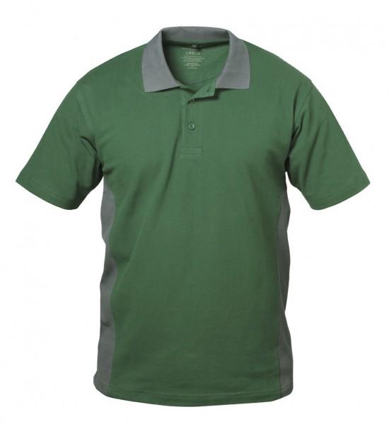 Polo-Arbeits- Shirt SEVILLA grün/grau