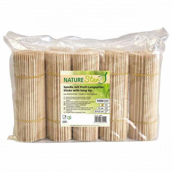 BIO-Holzspieße von NATURE Star