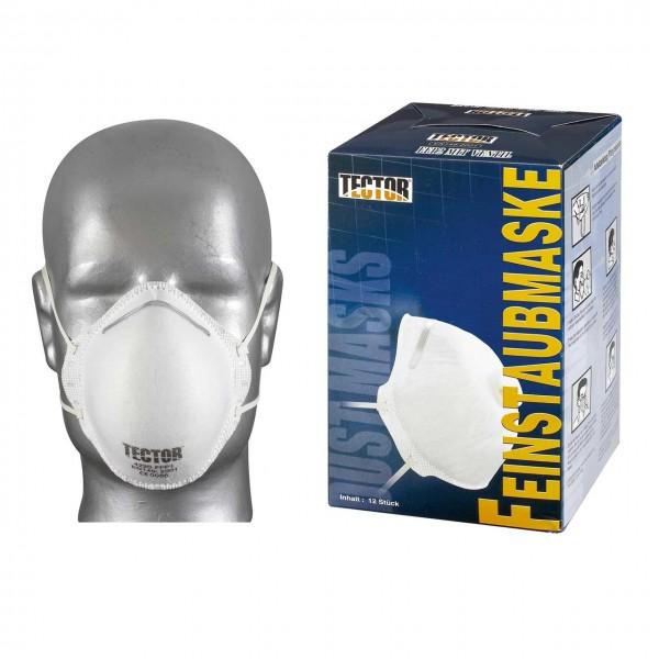 Feinstaubmasken FFP2 von TECTOR, vorgefo