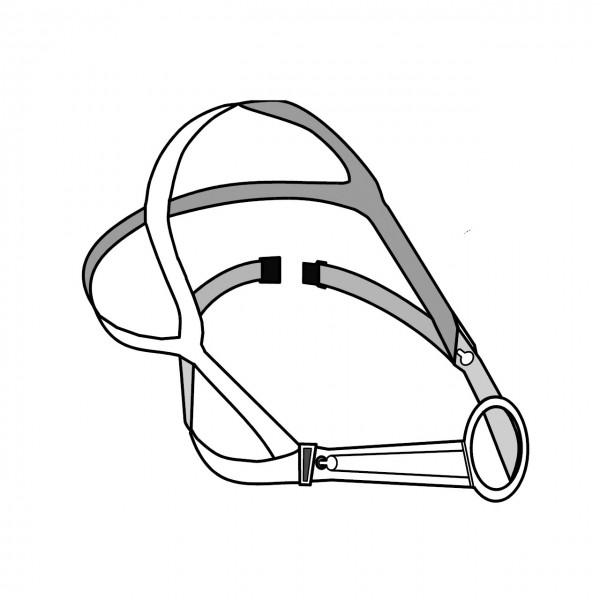 Kopfbänderung Sekur Halbmaske Polimask