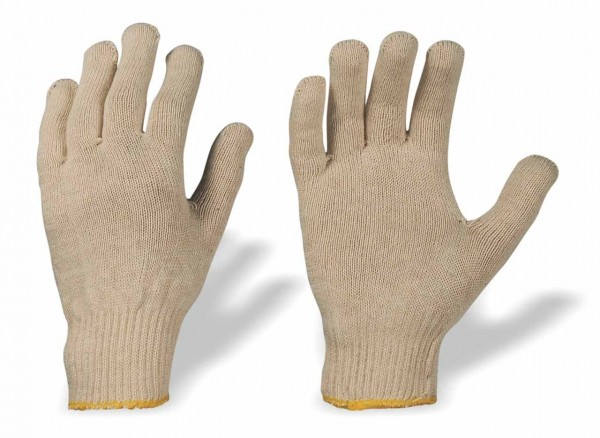 Trikot- Handschuhe aus Baumwolle MUTAN,