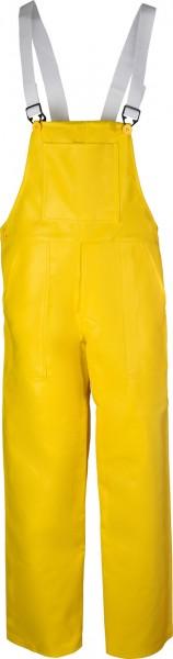 Gefütterte Winterbau-Latzhose PUL, gelb