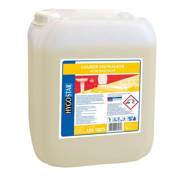Saurer Entkalker von Hygostar, 10 Liter