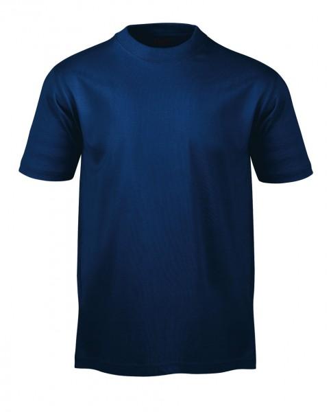 T-Shirt marine aus Baumwoll Piquee
