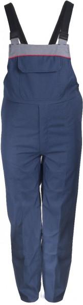 Latzhose MULTINORM Proban®, blau/grau