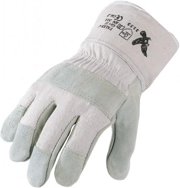 Rindspaltleder Handschuh FalkeC