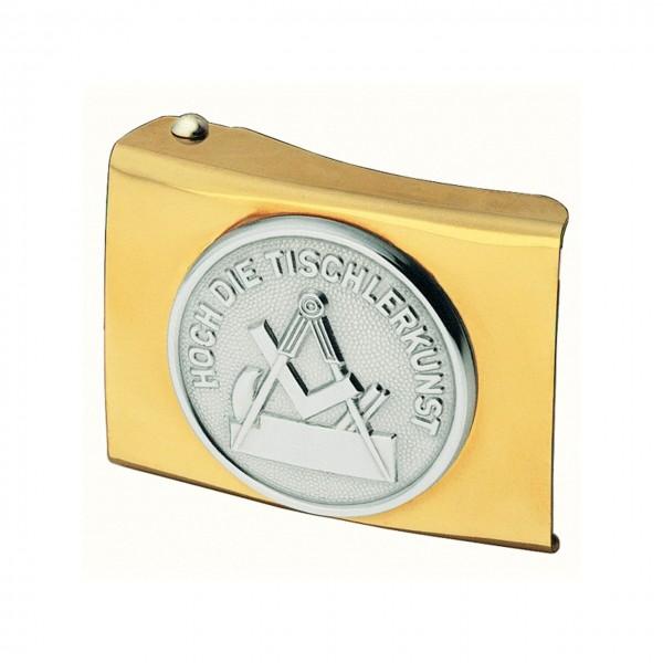 FHB Koppelschloss ARVED Steinmetz gold