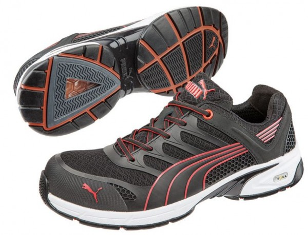 Puma S1P Arbeitsschuh Fuse Motion Red