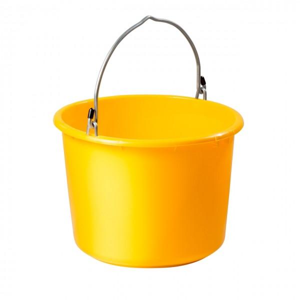 20 liter baueimer anschlagbar gelb bau und. Black Bedroom Furniture Sets. Home Design Ideas