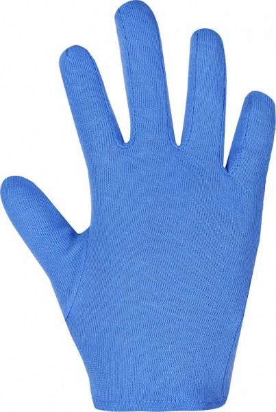blaue Baumwollhandschuhe BTWSBP