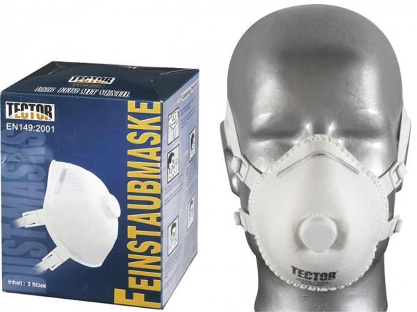 Dolomit-Feinstaubmaske FF P3 D, mit Vent
