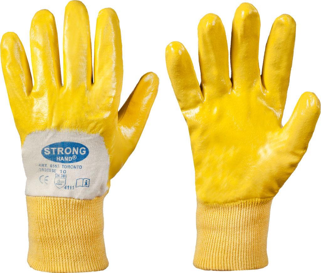Inh. 12 Paar 10 Stronghand Handschuh AMARILLO Gr