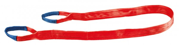 Hebeband 150 mm x 8 m von Tector, rot