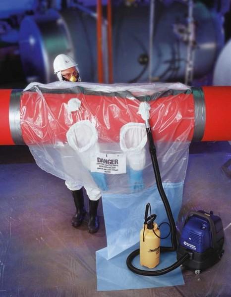 Glovebag horizontal QT18, 7406