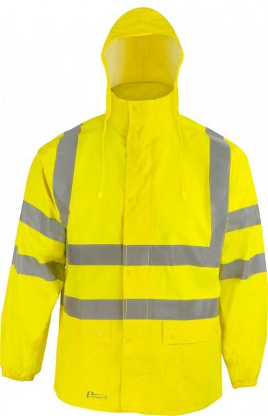 Warnschutz-Regenjacke RJG von Prevent, l