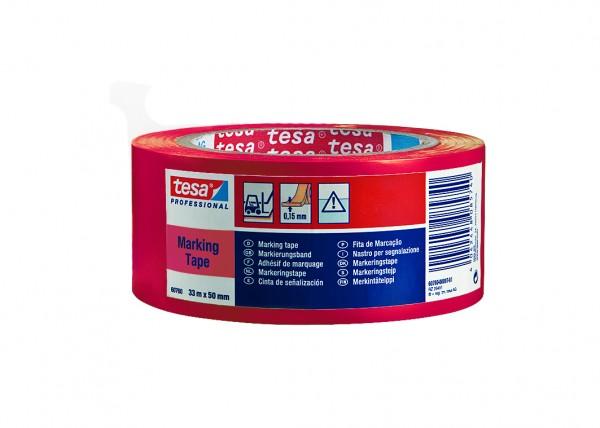 Markierungsband, tesa® 60760, rot