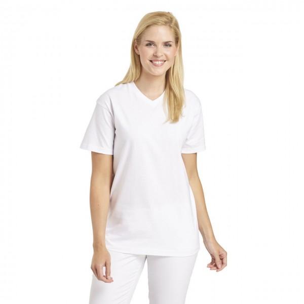 Leiber Unisex T-Shirt 08/2448, weiß