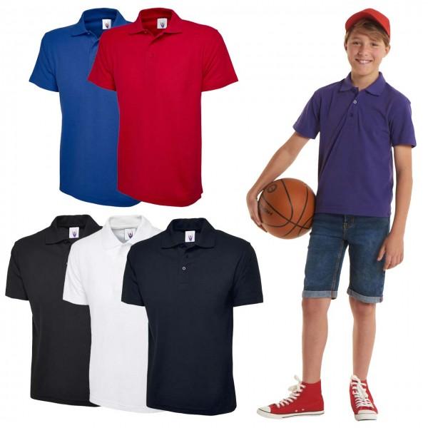 Schulkleidung Kinder Poloshirt 220 g/m²