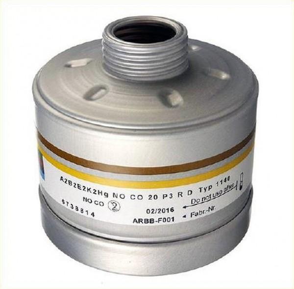 Dräger Kombinationsfilter 1140 A2B2E2K2